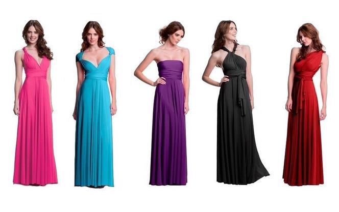 Как сшив платье трансформер 647